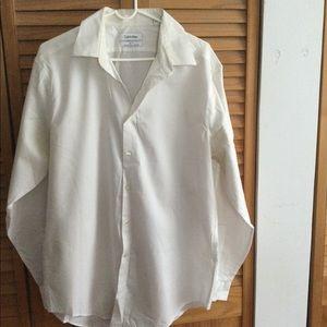 Calvin Klein White men's shirt